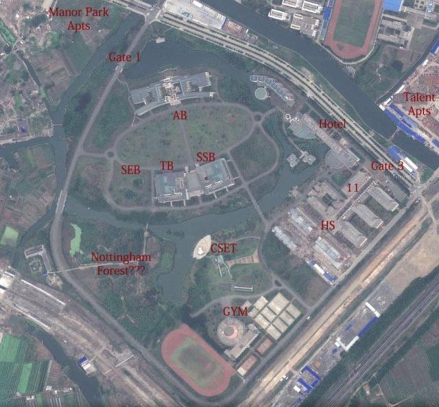 Campus Map Seth